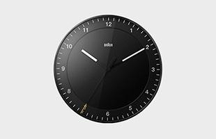 BRAUN ブラウン 掛け時計 BC17 ブラック