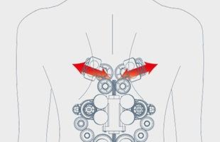 猫背・肩こりの原因「肩甲骨」に特化した特殊なマッサージ器です