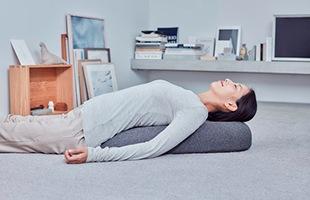 最も効果的な姿勢(寝ながら)行えます