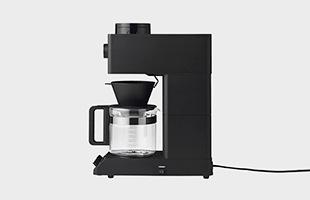 TWINBIRD 全自動コーヒーメーカー CM-D465B 横から見たイメージ