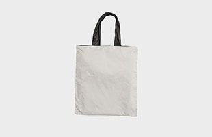 プラスディー acrylic ショッピングバッグ Light Shopperグレー