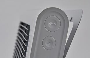 3段階の温度調節機能と1H・2H・4Hのオフタイマーを搭載し、節電にも配慮しました