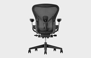 Herman Miller Aeron Chair remastered 背面から見た時のイメージ