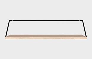 menu Rail Desk Light Oak