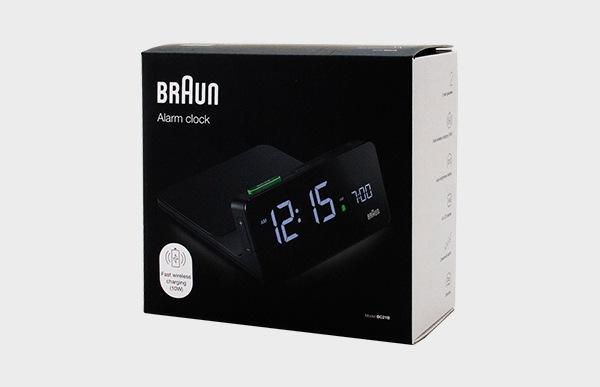 BRAUN ブラウン 置き時計 BC21B パッケージのイメージ
