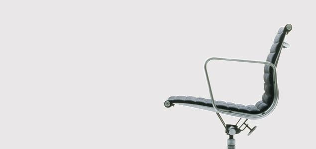 ハーマンミラー/イームズ/アルミナムチェア/サイドチェア/肘無 椅子/キャスター無/メッシュ張/黒[ハーマンミラーのアルミナムチェア]