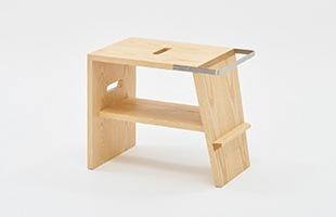 jig/atlier stool ホワイトアッシュ