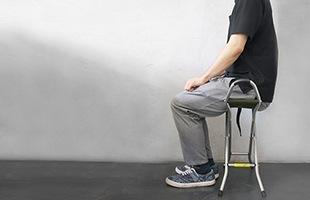 Quattro 34は安定感があり、座面が布で出来ているので、長く座っていても疲れません
