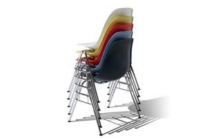 ハーマンミラー イームズ シェルチェア DSR[ ハーマンミラーの家具/椅子 イームズのダイニングチェア ]