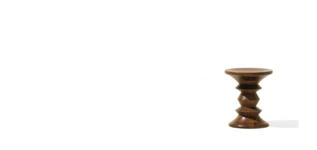 ハーマンミラー/イームズ/ウォールナットスツール [ハーマンミラーのウォルナットスツール]