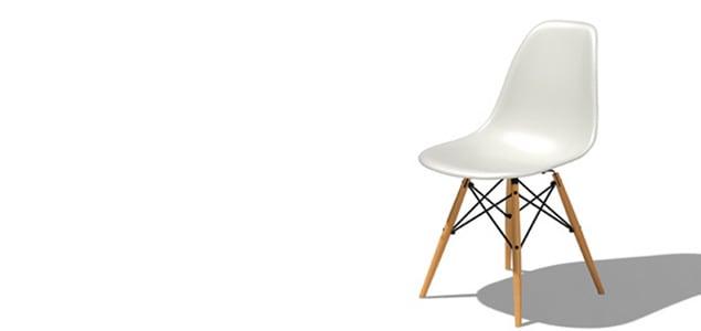 ハーマンミラー イームズ シェルチェア DSW[ ハーマンミラーの家具/椅子 イームズのダイニングチェア ]