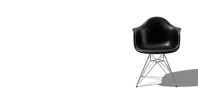 ハーマンミラー イームズ シェルアームチェア DAR[ ハーマンミラーの家具/椅子 イームズのダイニングチェア ]