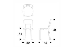 北欧 artek/アルテック/アアルト/66チェア/ラミネート白 [北欧製チェア・スツールはartek アルテック/66チェア]