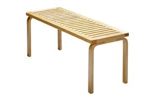 北欧 artek/アルテック/アアルト/木製ベンチ 153A/ホワイト [木製ベンチは北欧artek アルテック/153A]