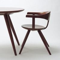 柳宗理sori yanagi 椅子 アームチェア YD261A [ 柳宗理の家具・木製ダイニングチェア ]