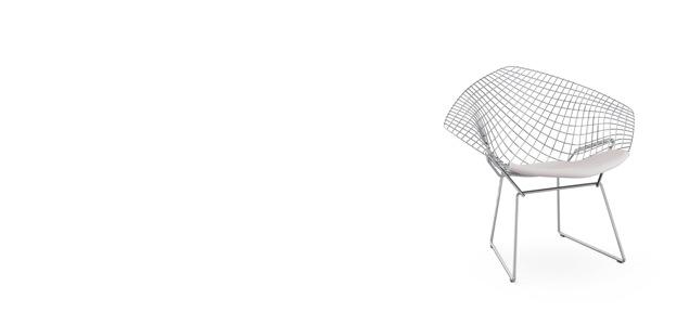Harry Bertoia(ハリー・ベルトイア)デザインのKnoll社サイドチェア・ダイアモンドチェア