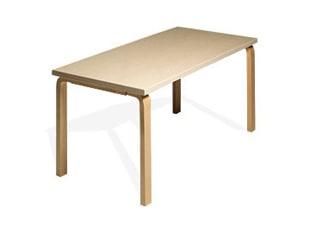 北欧 artek/アルテック/アアルト/ダイニングテーブル 81B バーチ [ダイニングテーブルは北欧artek アルテック]