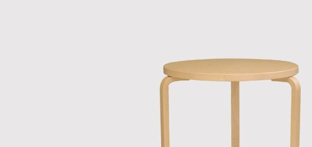 北欧 artek/アルテック/アアルト/丸テーブル 90D ホワイト [丸テーブルは北欧artek アルテック]