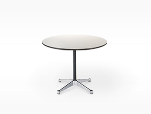 ハーマンミラー/イームズ/コントラクトベース/丸 テーブル/黒/Φ90.5xH70cm[テーブルはイームズ/ハーマンミラー]