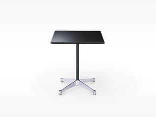 ハーマンミラー/イームズ/コントラクトベース/正方 テーブル/白/90.5角xH70cm[テーブルはイームズ/ハーマンミラー]