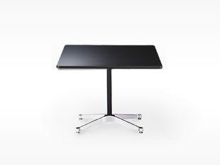 ハーマンミラー/イームズ/コントラクトベース/長方 テーブルS/黒[テーブルはイームズ/ハーマンミラー]