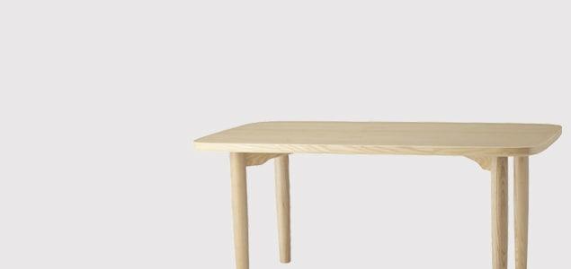 柳宗理/天童木工/ダイニングテーブル/ナチュラル[柳宗理 sori yanagi/ダイニングテーブルは天童木工 tendo]