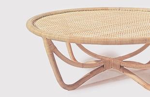 渡辺力 riki watanabe|YMK ワイエムケー/コーヒーテーブル/籐 家具 [ラタン テーブル アジアン 家具]