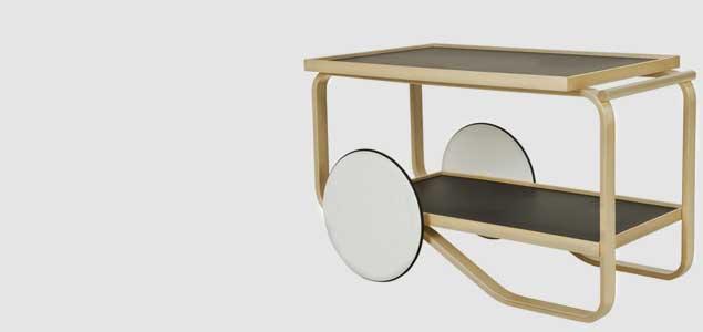 北欧 artek/アルテック/アアルト/901ティートローリー テーブル [テーブルは北欧artek アルテック]