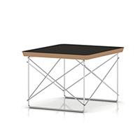 【正規保証5年】ハーマンミラー イームズ ミニテーブル ワイヤーベース テーブル LTR[ブラック×トリバレントクローム]