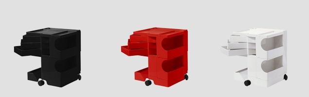 boby wagon ボビーワゴン 2段3トレイ カラーバリエーション