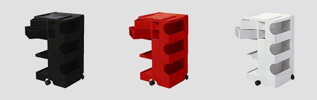 boby wagon ボビーワゴン3段2トレイ カラーバリエーション