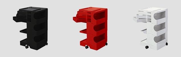 boby wagon ボビーワゴン3段3トレイ カラーバリエーション