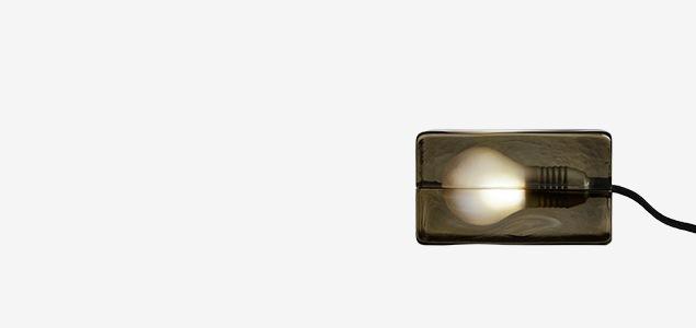 MOMA永久展示品 ハッリ コスキネンデザイン デザインハウス ストックホルム ブロックランプ 日本500個 限定カラー smoke