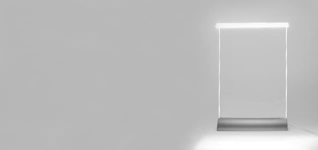 物理学の教授により計算された美しいLEDデスクライト Glowide(グローワイド)