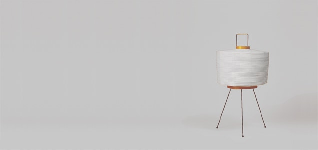 Isamu Noguchi(イサムノグチ)和紙 照明/AKARI(あかり)6A[和紙 照明はイサムノグチ/AKARI/あかり]
