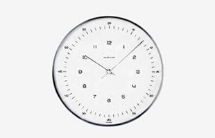 ユンハンス マックスビル(junghans max bill)掛時計・壁掛け時計  model 1957 φ22cm [おしゃれ掛時計・壁掛け時計はユンハンス マックスビル max bill]