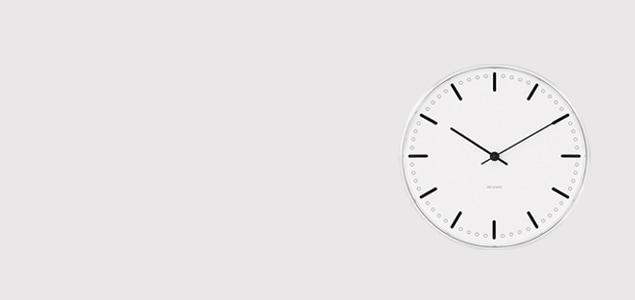 ローゼンダール アルネ ヤコブセン 掛時計・壁掛け時計 city hall シティホール φ29cm  [ デザイナーズ ウォールクロック 北欧 ]