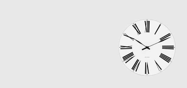 ローゼンダール アルネ ヤコブセン 掛時計・壁掛け時計 ROMAN ローマンφ29  [ デザイナーズ ウォールクロック 北欧 ]