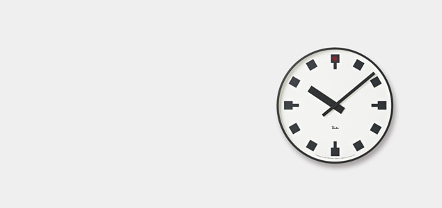 掛け時計 [掛時計] おしゃれ デザイン|designshop/designshopではシンプルモダンなデザイナーの掛け時計 [掛時計] おしゃれ デザインを扱っております。世界的に定番のマックスビル、アルネヤコブセンの掛け時計 [掛時計] をはじめ、日本人では渡辺力、深澤直人などのおしゃれな掛け時計 [掛時計] がございます。ただ時計で時間を見るだけではなく、インテリアとしてアートを見るように時計を楽しみたいですね。