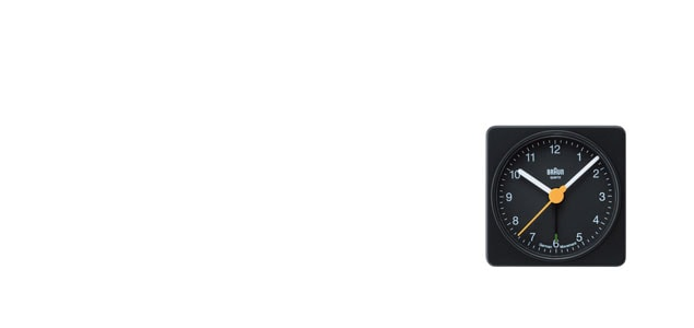 braun ブラウン/アラームクロック・目覚まし時計/bnc002 [アラームクロック・目覚まし時計はbraun ブラウンbnc002]