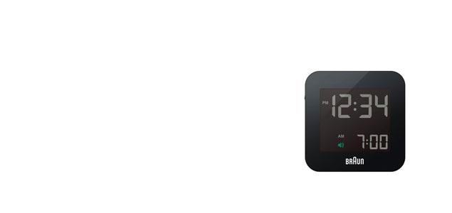 braun ブラウン/デジタル アラームクロック・目覚まし時計/電波時計bnc008 [アラームクロック・目覚まし時計はbraun ブラウンbnc008]
