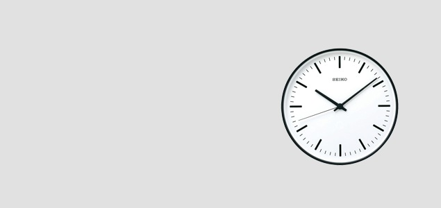 SEIKO/STANDARD Analog Clock/Sサイズ Φ200/KX310<br>