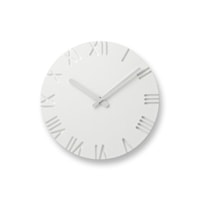 Lemnos 掛時計 CARVED φ240[全3種]  NTL10-04[ レムノスのデザイナーズ ウォールクロック ]