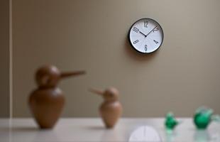 Lemnos 掛時計 GUGU[全3種]  AWA13-02[ レムノスのデザイナーズ ウォールクロック ]
