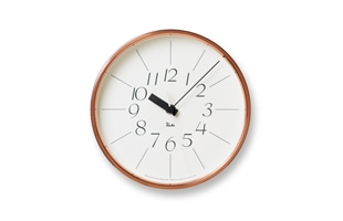 Lemnos/掛時計/渡辺力/銅の時計  WR11-04<br>