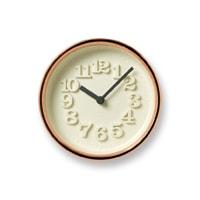 Lemnos/掛時計・置時計/渡辺力/小さな時計/純銅  WR11-05<br>【楽ギフ_包装選択】