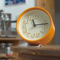 Lemnos/掛時計・置時計/渡辺力/小さな時計[全7色]  WR07-15 <br>