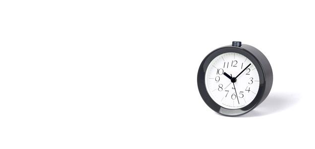 Lemnos/置き時計/RIKI Alarm Clock/ナチュラル  WR09-15 NT<br>