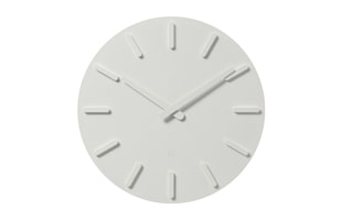 ±0 プラスマイナスゼロ/ウォールクロック/壁掛け時計/ホワイト ZZC-X020[±0 プラスマイナスゼロのシンプルな壁掛け時計/シンプル・おしゃれなデザインは北欧風インテリアに]