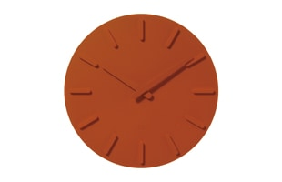 ±0 プラスマイナスゼロ/ウォールクロック/壁掛け時計/ホワイト ZZC-X020A[±0 プラスマイナスゼロのシンプルな壁掛け時計/シンプル・おしゃれなデザインは北欧風インテリアに]